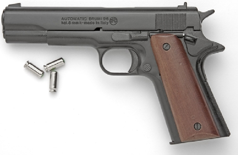 Model 1911 .45 cal. U.S. Military Automatic Pistol, fires 8mm blanks